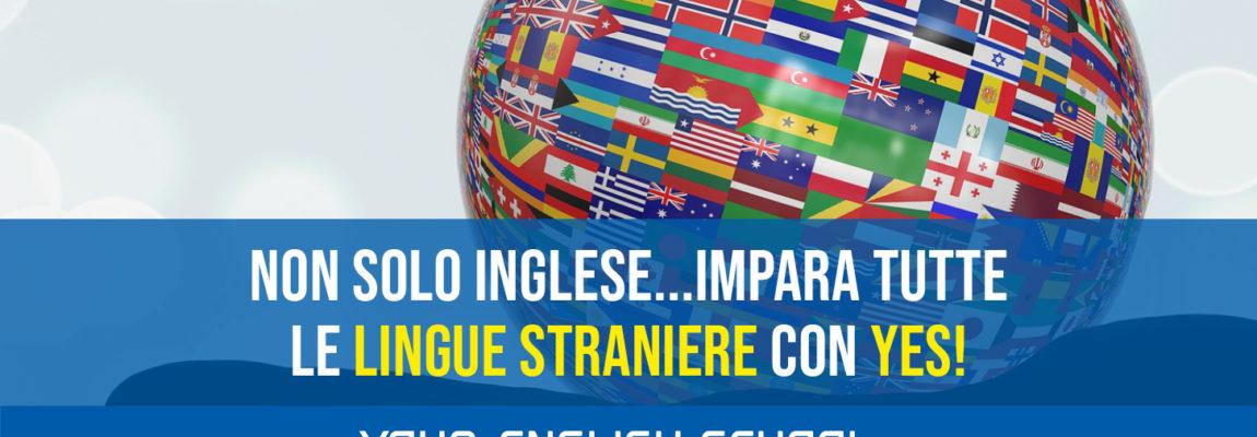 Impara tutte le lingue straniere con YES!