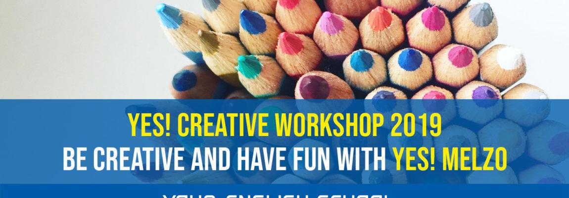 YES! melzo Creative workshop 2019